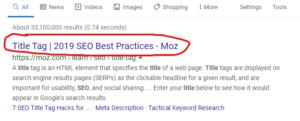 titles google